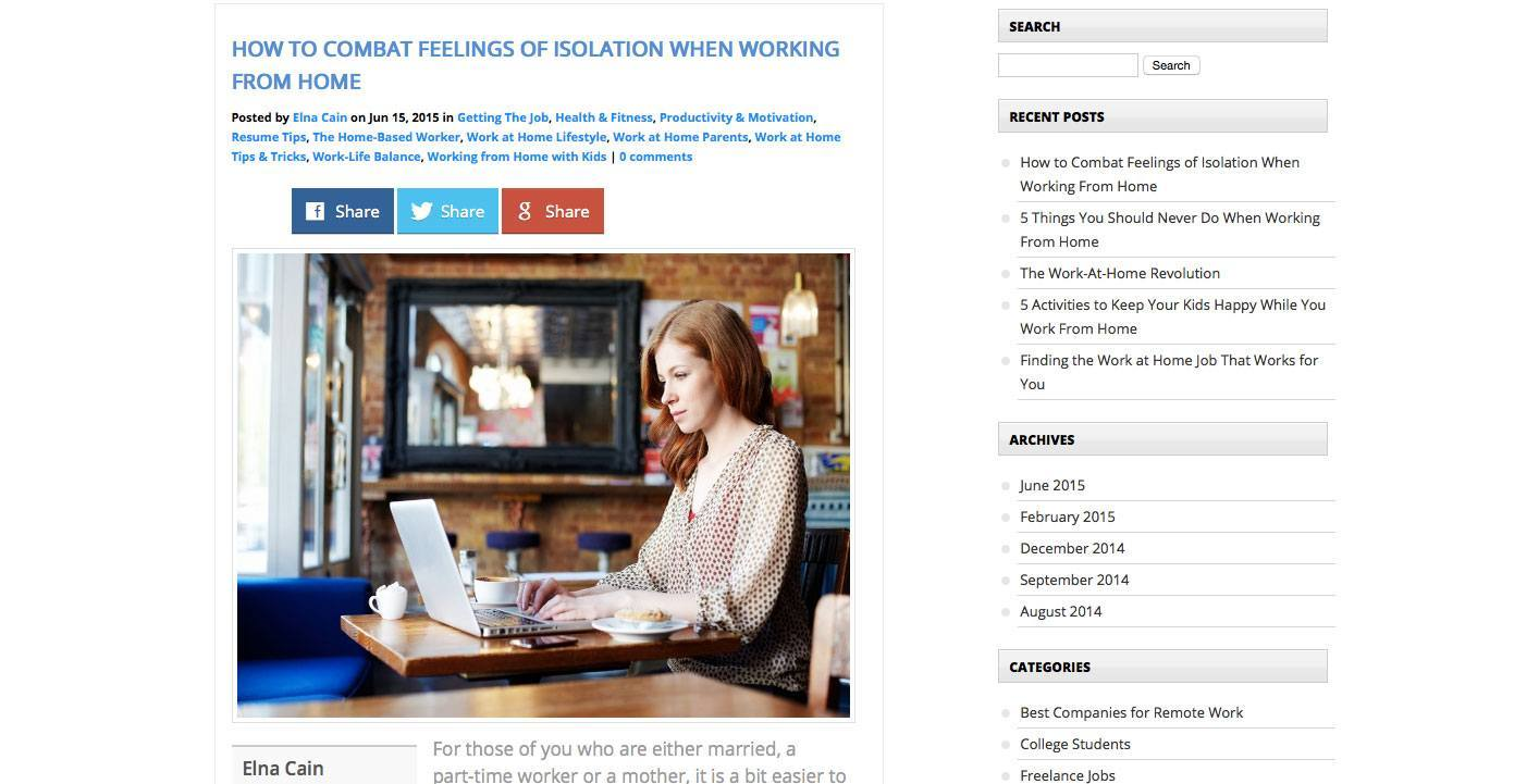 How to Combat Feelings of Isolation When Working From Home