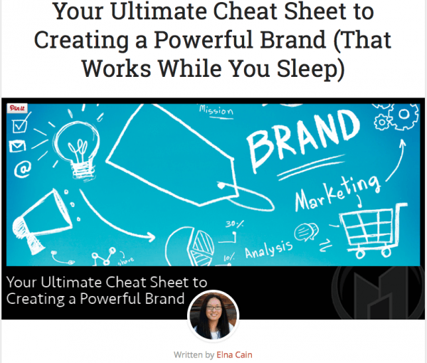 Your Ultimate Cheat Sheet to Creating a Powerful Brand (That Works While You Sleep)