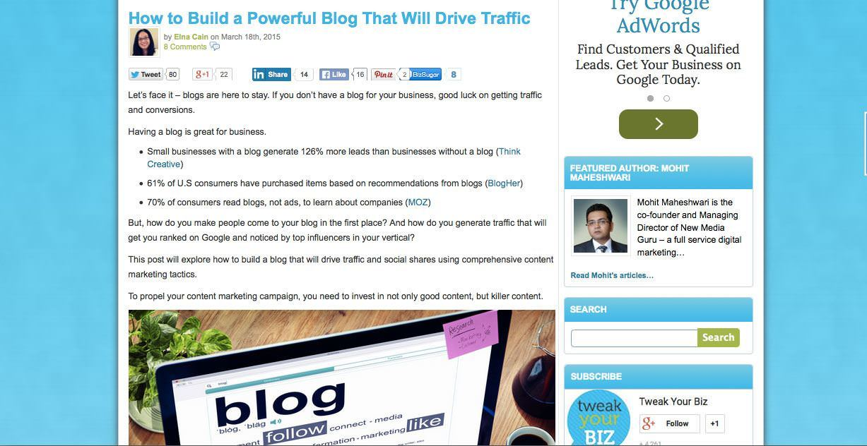 How to Build a Powerful Blog That Will Drive Traffic