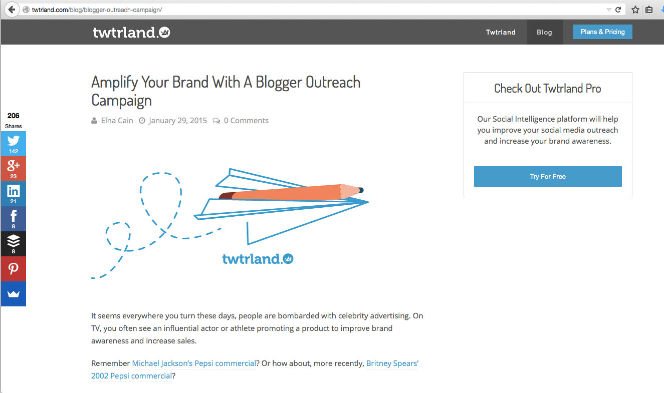 Amplify Your Brand With a Blogger Outreach Campaign