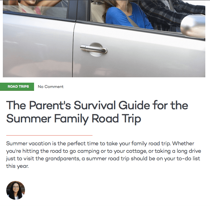 The Parent's Survival Guide for the Summer Family Road Trip