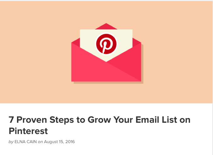 7 Proven Steps to Grow Your Email List on Pinterest