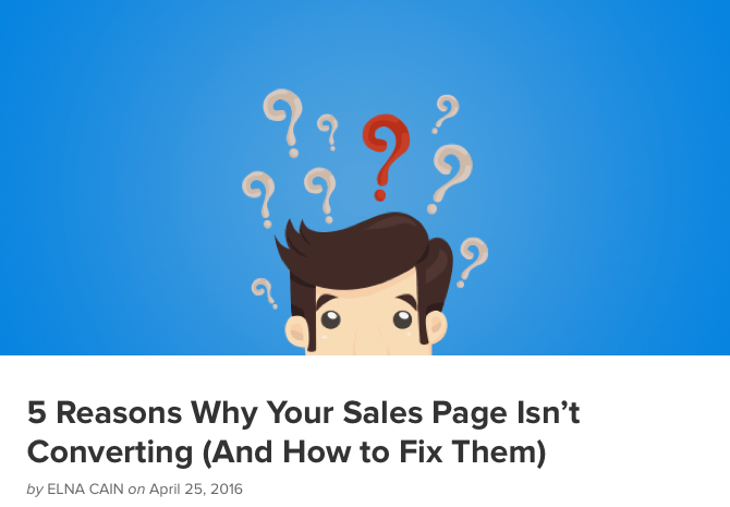 5 Reasons Why Your Sales Page Isn't Converting (And How to Fix Them)