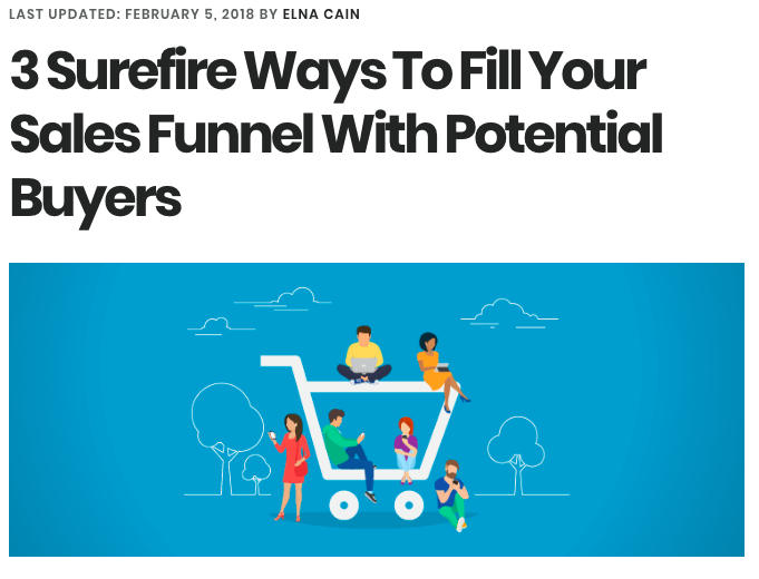 3 Surefire Ways to Fill Your Sales Funnel With Potential Buyers