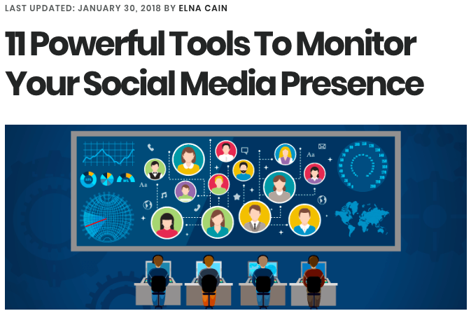 11 Best Powerful Tools to Monitor Your Social Media Presence
