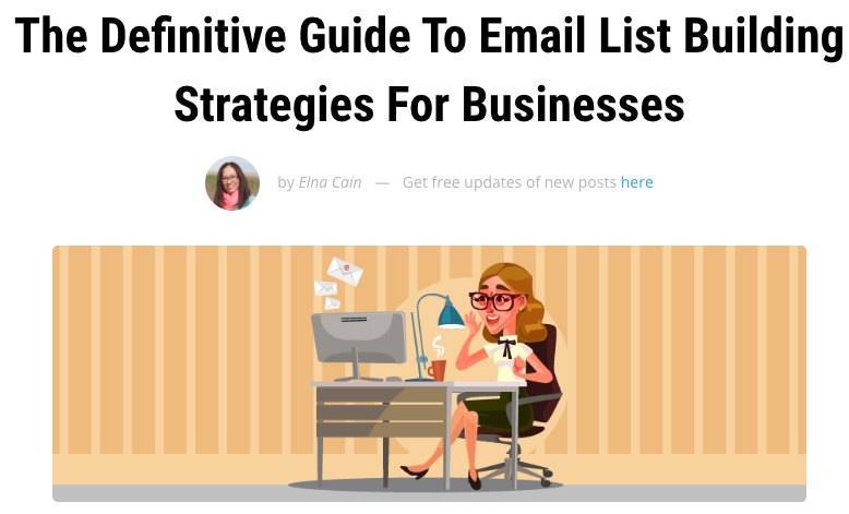 The Definitive Guide To Email List Building Strategies For Businesses