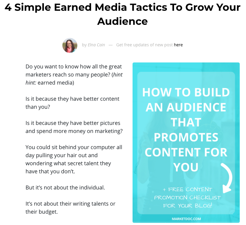 4 Simple Earned Media Tactics to Grow Your Audience